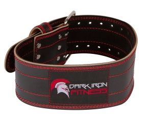 dark iron fitness unisex belt