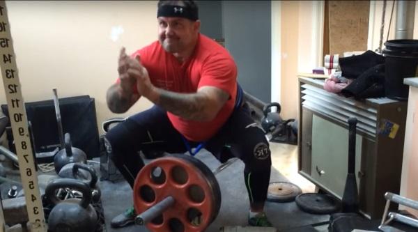 hip belt squat bar