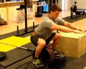 hip belt squat box