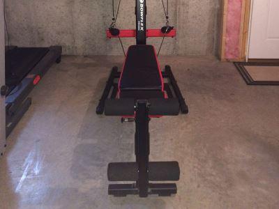 Bowflex PR1000 Footprint
