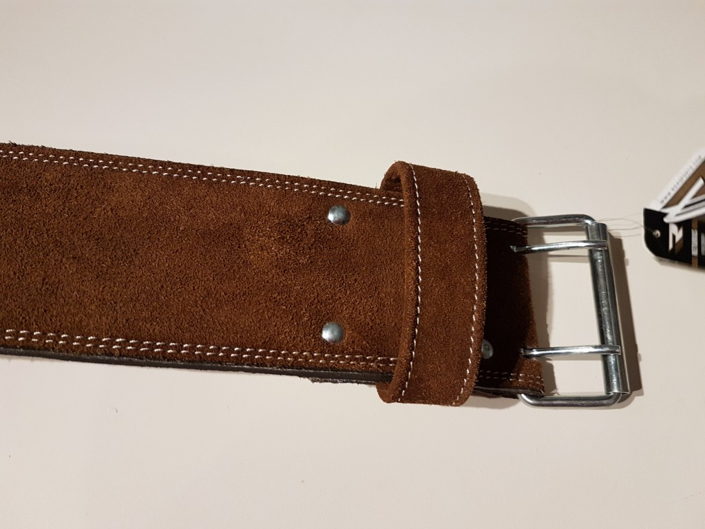 double pronged buckle belt