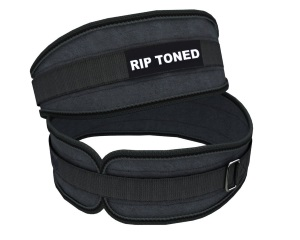 rip toned female crossfit belt