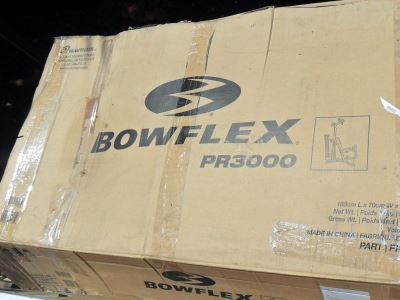 Bowflex PR3000 Box