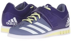 adidas powerlift shoe purple
