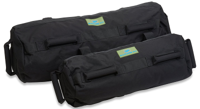 garage fit training sandbag black