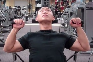 bowflex workout shoulder press