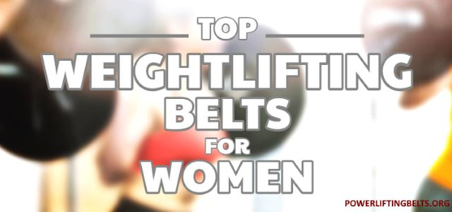 lifting belts for women