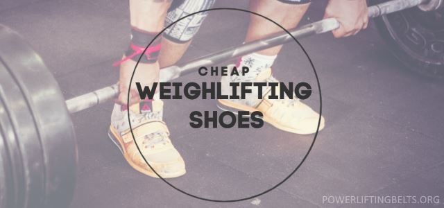 cheap weightlifting shoes