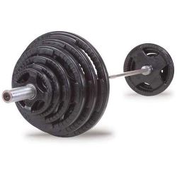 body solid rubber weights set