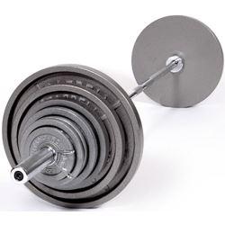 troy usa steel fitness olympic set