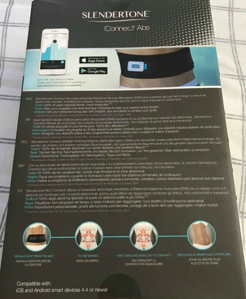 slendertone connect abs box rear