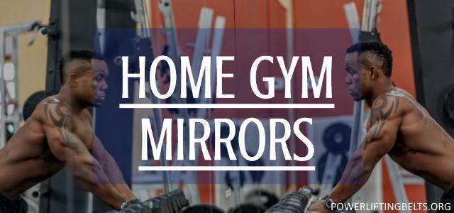home gym mirrors